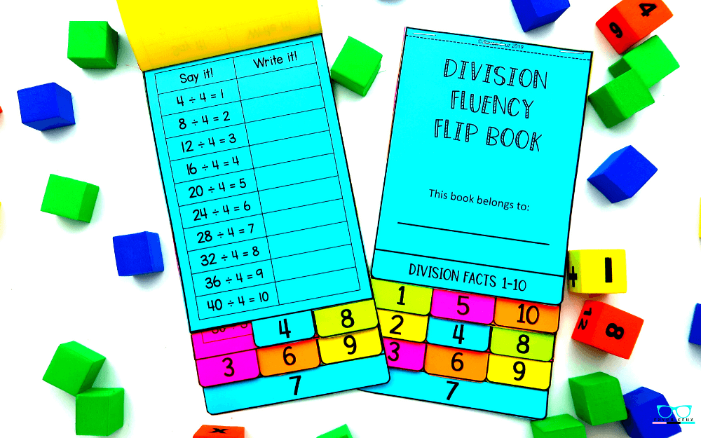 The Best Division Facts Tool to Make Learning Fun