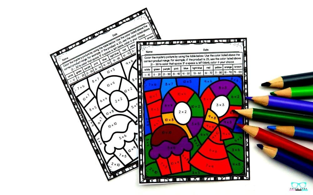 Exciting 100 Days of School Multiplication